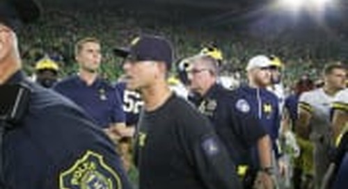 Michigan Players Prepared To Bounce Back Against Notre Dame