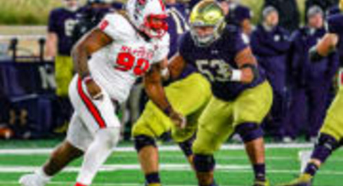Notre Dame Center Sam Mustipher Named To Rimington Trophy Watch List
