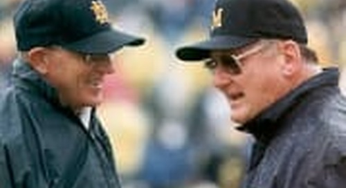 Notre Dame-Michigan: Embattled Coaches Often Find A Way In This Series