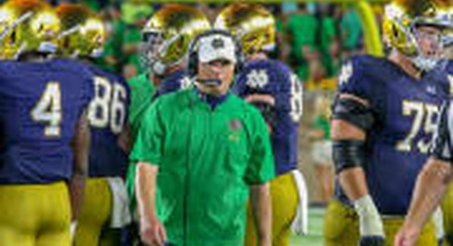 Improvement Needed For Notre Dame Offense