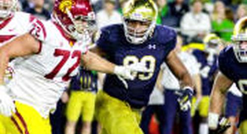 Three Notre Dame Defenders Crack NFL.com Top 150 List For 2018