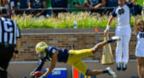 Notre Dame Safety Kyle Hamilton Better Than Advertised