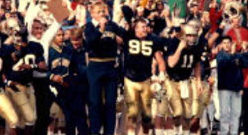 Notre Dame Named Among 15 Most Dominant Programs Of The Last 50 Years