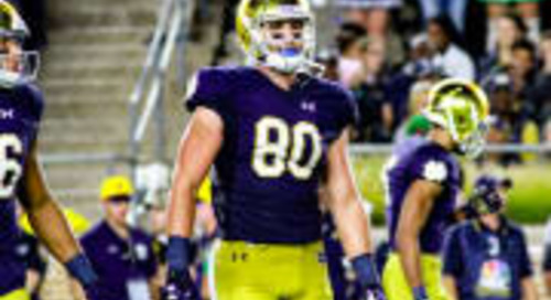 NFL Draft: Miami Dolphins Draft TE Durham Smythe In The 4th Round