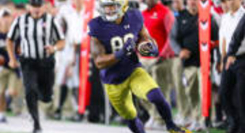 Notre Dame Tight End Alize Mack Named To John Mackey Watch List