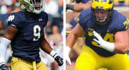 Notre Dame vs. Michigan: The Rivalry Renewed