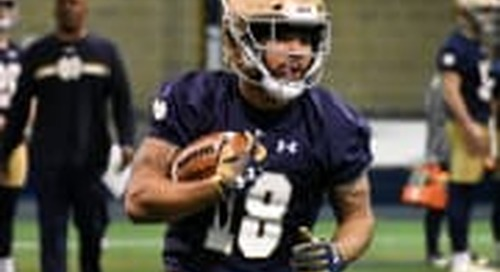 Notre Dame Practice Report: Offense - March 21