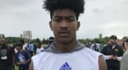 2020 WR Devell Washington Excited To Camp At Notre Dame