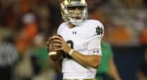 Notre Dame/QBs, 3-2-1: Numbers, Questions & Prediction