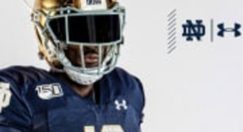 Notre Dame Reveals 2019 Alternate Uniform