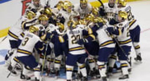 No. 1 Seed Notre Dame Survives & Advances To Regional Final