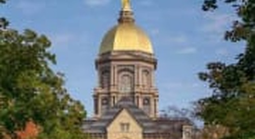 Notre Dame Vaults To No. 5 In Learfield IMG Directors' Cup
