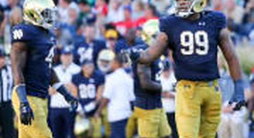 Notre Dame's Jerry Tillery, Te'von Coney Named To Bednarik Watch List