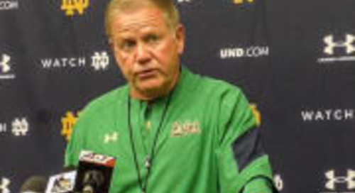 Brian Kelly On Current Reality: 'We're All Trying To Figure It Out'