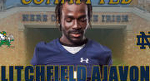 Rivals100 Safety Litchfield Ajavon Commits To Notre Dame