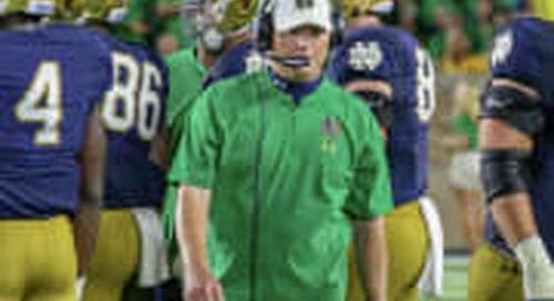 BGI Q&A: Notre Dame Football Offensive Coordinator Chip Long