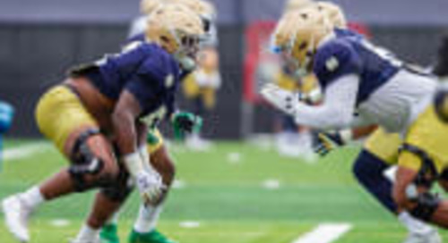Notre Dame Football's Latest COVID-19 Test Results Reveal New Case