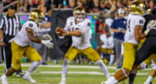 Notre Dame Football Notebook: Backfield In Motion