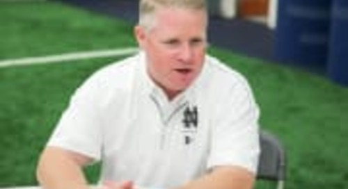 Early Signing Period Impacting Roster Management For Brian Polian & Irish