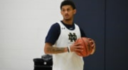 Notre Dame Men's Basketball Scrimmage Report