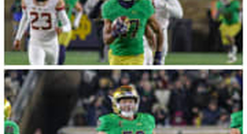 Julian Love & Sam Mustipher Earn All-American Honors From FWAA