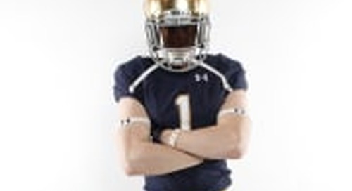 WR Jay Brunelle Recaps Visit With Notre Dame Coaches