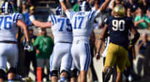 3-2-1: Observations, Questions, Prediction Of Notre Dame Vs. Duke