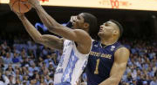Late Run Pushes North Carolina Past Notre Dame 83-66