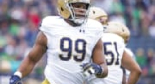 """Picking A Notre Dame Football """"All-Early Enrollee"""" Team"""