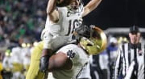 Notre Dame Fighting Irish Highlights vs. Duke