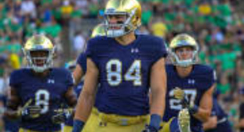 Notre Dame Tracking Toward Busy NFL Draft Day Two, Analysts Say