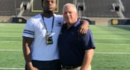 Notre Dame Makes Major Move With Rivals250 OL Saleem Wormley On Visit