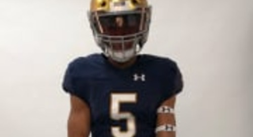 Notre Dame In Pursuit Fast-Rising Four-Star DB Xavier Nwankpa