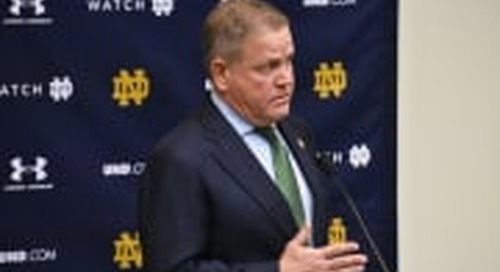 Quick-Hitters: Brian Kelly's Monday, Oct. 19 Press Conference