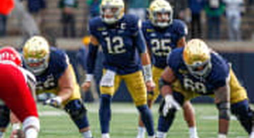 ANALYSIS: Notre Dame Red Zone Not Yet A Red Flag