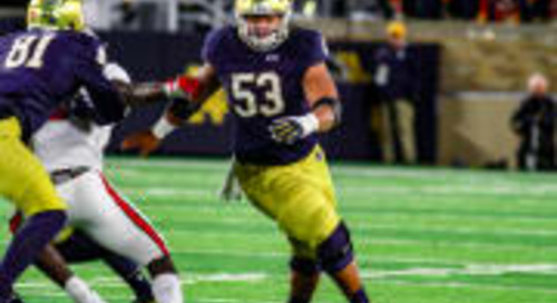Notre Dame Center Sam Mustipher Named To Rimington Watch List