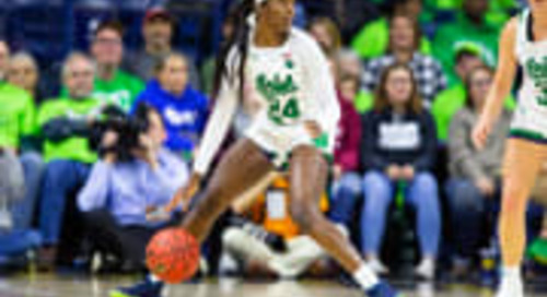 Victory! Notre Dame Women Defeat Miami, 76-53, To End Drought