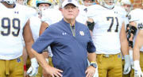 Where Notre Dame Sits In National Recruiting Rankings