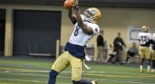 BGI Video: Notre Dame March 20 Spring Practice Highlights