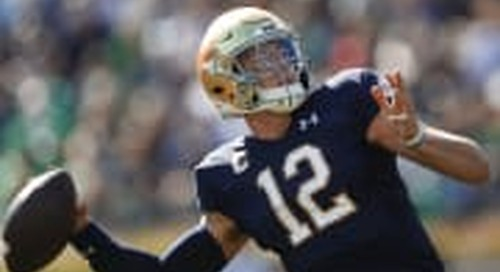 WATCH: Notre Dame Highlights And Top Plays vs. New Mexico