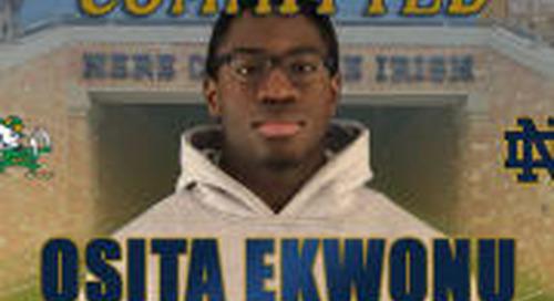Rivals250 Linebacker Osita Ekwonu Commits To Notre Dame