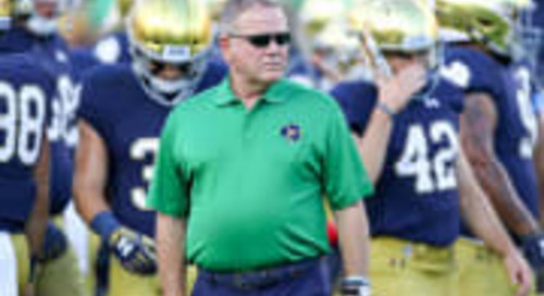 Notre Dame Retaining Hunger Element For Playoff Football