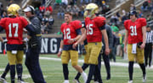 Will 2019 Break 'The Pattern' At Quarterback For Notre Dame?