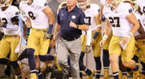 Brian Kelly Introduces 'The Notre Dame Minute'
