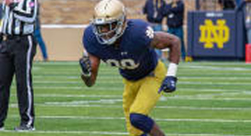 Notre Dame Freshman Receivers: Best Numbers