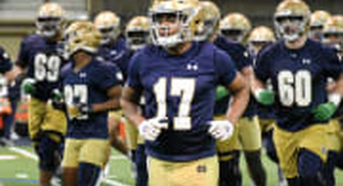 Notre Dame Practice Report: Offense - March 26