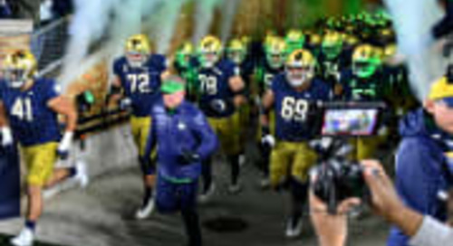 Notre Dame Moves Up One Spot In Oct. 18 AP Poll