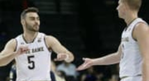 Quick Hits: Notre Dame's 67-64 Win Over Pittsburgh