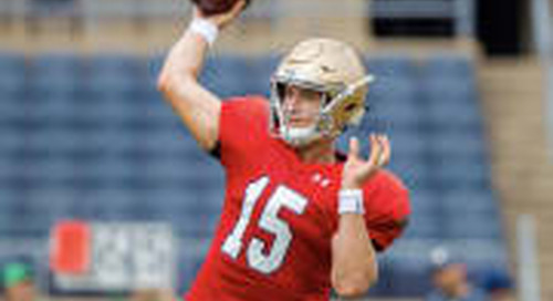 Notre Dame Football: Full Practice Report No. 12 - Quarterbacks