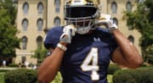 Xavier Watts Locked In With Notre Dame